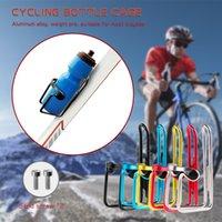cores de garrafa de água de bicicleta gaiolas venda por atacado-5 cores de alumínio da bicicleta de água gaiola garrafa de alta qualidade Ciclismo Beber Garrafa de água cremalheira Holder gaiola