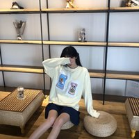markalar bebek şişeleri toptan satış-19fw lüks marka Tasarım Biberon yama akne Kadın Erkek Casual Tişörtü Kazak Kazaklar Streetwear Açık Hoodies