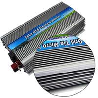 pv energieinverter großhandel-Freeshipping 1000W am Rasterfeldbindungssolarstrom-Mikroinverter reine Sinuswelle DC10.5-28V bis 220V Wechselstrom 1kw Netzwechselrichter für 18V 1250W PV Power