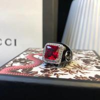 jóias pedra mexicana venda por atacado-Anel de luxo com pedra da natureza e diamante decorar selo logotipo charme anel de jóias de natal dia de ação de graças jóias presente frete grátis