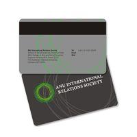 impresión de tarjetas de plástico al por mayor-Tarjeta de banda magnética de plástico de alta calidad con impresión a doble cara y tarjeta de miembro de pvc que imprimen tarjetas magnéticas de PVC personalizadas