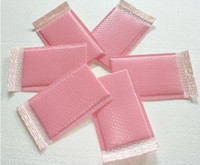 Wholesale packing printing for sale - Group buy 15x20 cm Usable space pink Poly bubble Mailer envelopes padded Mailing Bag Self Sealing Pink Bubble Packing Bag