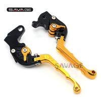 Wholesale folding brake clutch levers for sale - Group buy Folding Retro Brake Clutch Lever For HONDA CBR R CBR125R Motorcycle Accessories Adjustable