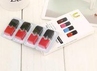 Wholesale strawberry pack online - JILI Pods Mango Mint strawberry GEM cartridge ml capacity no leak pods each packs compatible for kits DHL