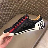 Wholesale sneakers dresses resale online - Luxury Designer Rockrunner sneakers leather Men Women casual shoes Sneakers Footwear Women Flats Dress Shoe Sports Tennis Printing R382