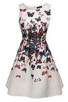 винтажные вдохновленные коктейльные платья оптовых-Вдохновленный старинные acevog женщин Одри Хепберн 50-х годов рокабилли свинг коктейльное платье