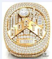 Wholesale stone souvenirs resale online - Toronto Raptors Basketball Championship Ring Souvenir Fan Gift Drop Shipping size