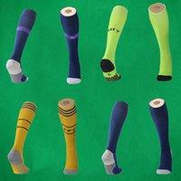tay çorapları toptan satış-2019 ARS ev futbol çorap Manchester Diz Yüksek stocking tay kalite Kalınlaşmak Havlu Alt spor uzun hortumlar Birleşik Yetişkin spor çorap