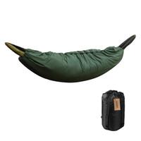 Wholesale weather mats resale online - Multifunctional Camping Sleeping Bag Outdoor Hammock Under quilt Lightweight Quilt Packable Full Length Under Blanket Mat
