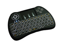 Wholesale qwerty fly mini keyboard for sale - Group buy DHL free ship Wireless Backlit Keyboard H9 Fly Air Mouse Multi Media Remote Control Touchpad Handheld QWERTY with Blacklight