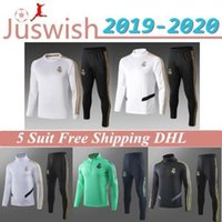 Wholesale cam waterproof resale online - 2019 Real Madrid Adult TRACKSUIT TRAINING SUIT Veste de Football Men HAZARD ASENSIO ISCO youth Survêtement REAL MADRID Mayorista
