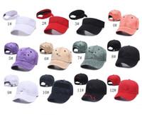 kadınlar için plaj siperlikleri toptan satış-Unisex UA Beyzbol Şapka Marka Topu Kapaklar Erkekler Kadınlar Tasarımcı Snapbacks Saçakları Ayarlanabilir Spor Hip-Hop Kap Plaj Şapka Donatılmış Sunhat C8510