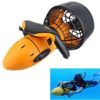 бассейн под водой оптовых-Бесплатная доставка водонепроницаемый 300 Вт электрический морской скутер двухскоростной подводный пропеллер дайвинг бассейн скутер (без батареи)