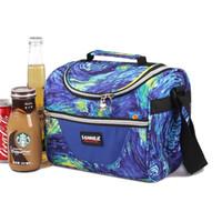 frisches zeug großhandel-Wärmedämmung Kühler Lunchpaket Picknicktasche Frischhalteeis Packung Obstbehälter Lagerung Zubehör Zubehör