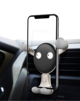 воздух оптовых-Gravity Автомобильный Держатель Телефона Для iPhone X 8 7 Универсальный Air Vent Клип Автомобильный Держатель Для Телефонов Samsung Xiaomi Huawei