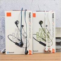 супер басовые наушники микрофон оптовых-T205BT Bluetooth наушники с микрофоном, беспроводные наушники для спорта.