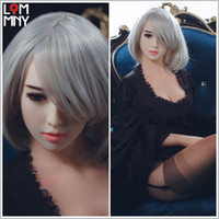 Wholesale mannequin plastic doll sex resale online - LOMMNY Quality Real Silicone oral Love Doll with Big breast ass Sex Dolls Japanese Lifelike Sexy Doll Vagina toys