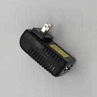 fuente de alimentación de ca dc 48v al por mayor-100 UNIDS CCTV Seguridad AC 110-240V a DC 12V 24V 48V 0.5A 1A Adaptador POE Inyector Ethernet Cámara IP Teléfono IP Cámara PoE Fuente de alimentación