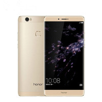 google tv flash al por mayor-Nota original Huawei Honor 8 teléfono 4G LTE teléfono celular Kirin 955 Octa Core 4 GB de RAM 64 GB 128 GB ROM de Android 6.6 pulgadas 13MP de huellas dactilares de identificación móvil