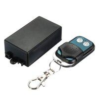 transmissor remoto receptor interruptor sem fio venda por atacado-12V DC 2CH canal sem fio RF Remote Control Switch Transmissor + Receptor