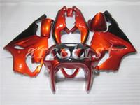 Wholesale kawasaki zx7r orange for sale - Group buy New Full fairings kit set Fit For KAWASAKI NINJA ZX R ZX7R ZX R ABS Fairing orange black Nice