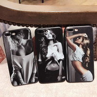Wholesale hot iphone girl online – custom Sexy Hot Girl Silicone Sculpture Soft TPU Phone Case Cover Coque Funda For iPhone Plus S Plus PLUS X