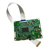 tarjeta hdmi lcd al por mayor-Dual mini HDMI Universal LCD placa de controlador para PANEL EDP para 11.6 / 13.3 / 14 / 15.6 pulgadas 1920 * 1080 con conector de auriculares de 3.5 mm freeshipping
