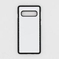 samsung mobiles new arrivals venda por atacado-Os recém-chegados sublimação 2d mobile phone case para samsung galaxy s10, s10 plus, nota 9 caso capas de alta qualidade personalizado phone case