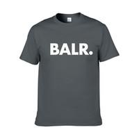 ingrosso camicie femminili hip hop-New Balr Designer T Shirt Hip Hop Mens Designer T-shirt Moda uomo di marca da donna manica corta T-shirt di grandi dimensioni