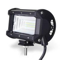led-fahrzeugleuchte groihandel-72W DC10-30V LED Lichtstrahl Flutlampe 5 zoll Auto Boot Lkw Offroad Fahrzeug Für Jeep Fahren Licht Wasserdichtes IP67 Arbeitslicht