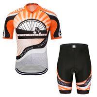 bicicleta triatlon xs al por mayor-jersey de ciclismo 2019 nueva chaqueta y pantalones cortos de bicicleta de verano conjunto ropa de ciclismo MENS verano secado rápido Triathlon absorbente transpirable ciclismo