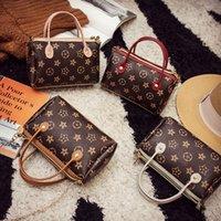 bolsas embelezado venda por atacado-Mulheres Moda Shoulder Bag Flower adornadas Individual Bolsas de Ombro Lady Handbag cordão Bucket Bag sacos para as mulheres