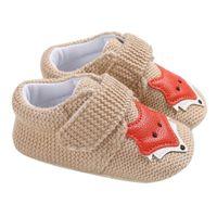 sandale tier baby großhandel-Schuhe Für Kinder Baby Mädchen Jungen Tier Nette Dekorative Weiche Untere Sandalen Schuhe Rutschfeste Baby Februar 14
