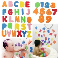 Wholesale baby tools set for sale - Group buy kids toys educational Bath Toys Alphanumeric Letter Bath Puzzle Soft EVA Kids Baby Toys New Early Educational Kids Tool Bath Toy
