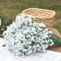 Wholesale flowers for sale - Group buy Artificial Flowers forked stars Gypsophila Fake Silk Flower Plant Home Wedding Party Decoration Supplies WX9