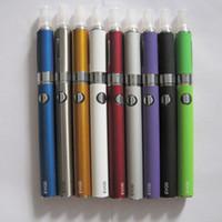 ingrosso sigaretta elettronica atomizzatore di batteria evod-Starter kit sigaretta elettronica EVOD MT3 Blister 900mah 1100mah Batteria EVOD MT3 Atomizzatore E Cig starter kit vaporizzatore kit penna vaporizzatore