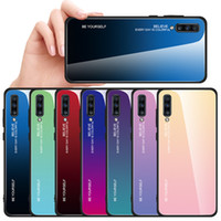 Wholesale tempered glass samsung galaxy a8 for sale – best Gradient Tempered Glass Case For Samsung Galaxy A5 A6 A7 A8 A9 J4 J6 Plus A10 A20 A30 A40 A50 A60 M40 Phone Cover