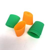 ingrosso boccette di prova per sigarette-baccelli Monouso Drip Tip Tester Bocchino in silicone proteggere Coperchio del test Tappo vaporizzatore Sistema Vape Penna Sigaretta elettronica