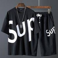 kadınlar için mini tulumlar toptan satış-Erkek tasarımcı eşofman ve kadın tulumlar bodysuit Yeni şort ve kısa kollu kombinasyonu erkek tasarımcı t shirt polo gömlekleri erkekler