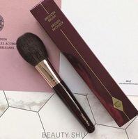 Wholesale squirrel makeup brushes resale online - Bronzer Brush Brand Brosse Bronzer Makeup Brushes Squirrel Hair Goat Hair Mix Powder Brush Flame Blush Highlighter Brush NEW GGA2517