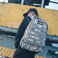 Wholesale combat backpacks for sale - Group buy Designer Hot Sale PUBG Combat backpack high quality oxford material shoulder bag for men and women school bags color available