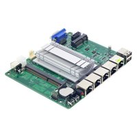 Wholesale Dual core mini motherboard j1900 single network port six serial port integrated graphics X17mini industrial control board