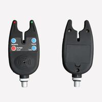 сигнализация об укусе рыбы оптовых-High Quality Electronic High Sensitive LED Light Fish Bite Sound Fishing Alarm Indicator Bell