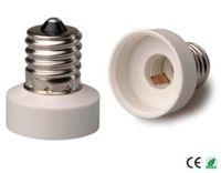 Wholesale e17 adapter resale online - E17 to E11 Light Socket adapter E17 to E11 lamp holder converter CE Rohs