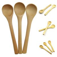 "emballés individuellement 3/"" bois Plain Taster cuillères//Ice Cream cuillères"