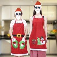 Christmas Personality Apron Bar Restaurant Waiter 60X80CM Decoration Apron UK