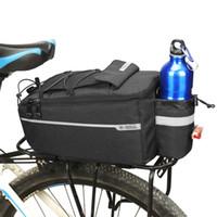 bolsa de bicicleta con aislamiento al por mayor-Diseñador de moda Bolsa de bicicleta Con Aislamiento de maletero Refrigerador Bolsa Ciclismo Bicicleta Estante trasero Almacenamiento Equipaje Bolsas de hombro reflectantes MTB Bike Pannier