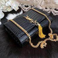 designer de bolsas de couro tecido venda por atacado-Mulheres Bolsa de Marca de Moda de Luxo Sacos de Designer de mulheres Bolsas de Grife de couro Crocodilo mulheres sacos de mão sacos de designer de sacos de cadeia