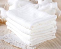 Wholesale 5pcs Cotton Baby Gauze Diapers For Newborn Baby Nappy Changing X cm Washable Soft Baby Towels Nappies