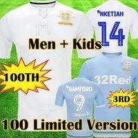 futbol formaları 24 toptan satış-19 20 Leeds United 100. yıldönümü futbol forması COSTA 2019 2020 BAMFORD CLARKE 100 yıl Bay Çocuk kiti futbol forması Yüzüncü yılın Kutluyor
